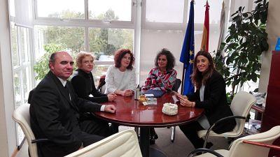 Reunión coa Directora Xeral de Comercio, Sol María Vázquez